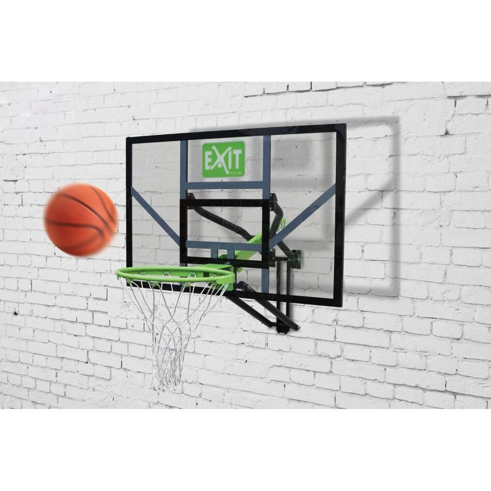 Регулюємий баскетбольний щит Exit Galaxy з кільцем і сіткою
