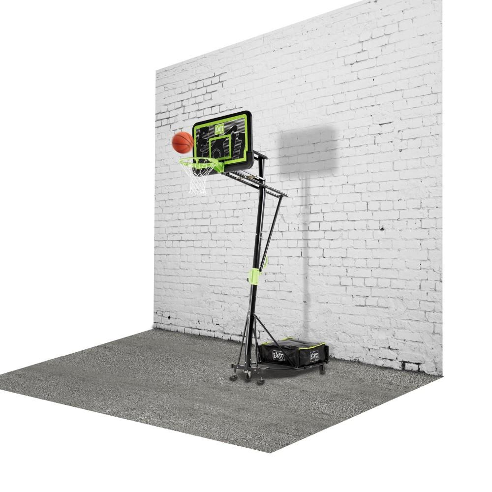 Мобільна баскетбольна стійка Exit Galaxy Black