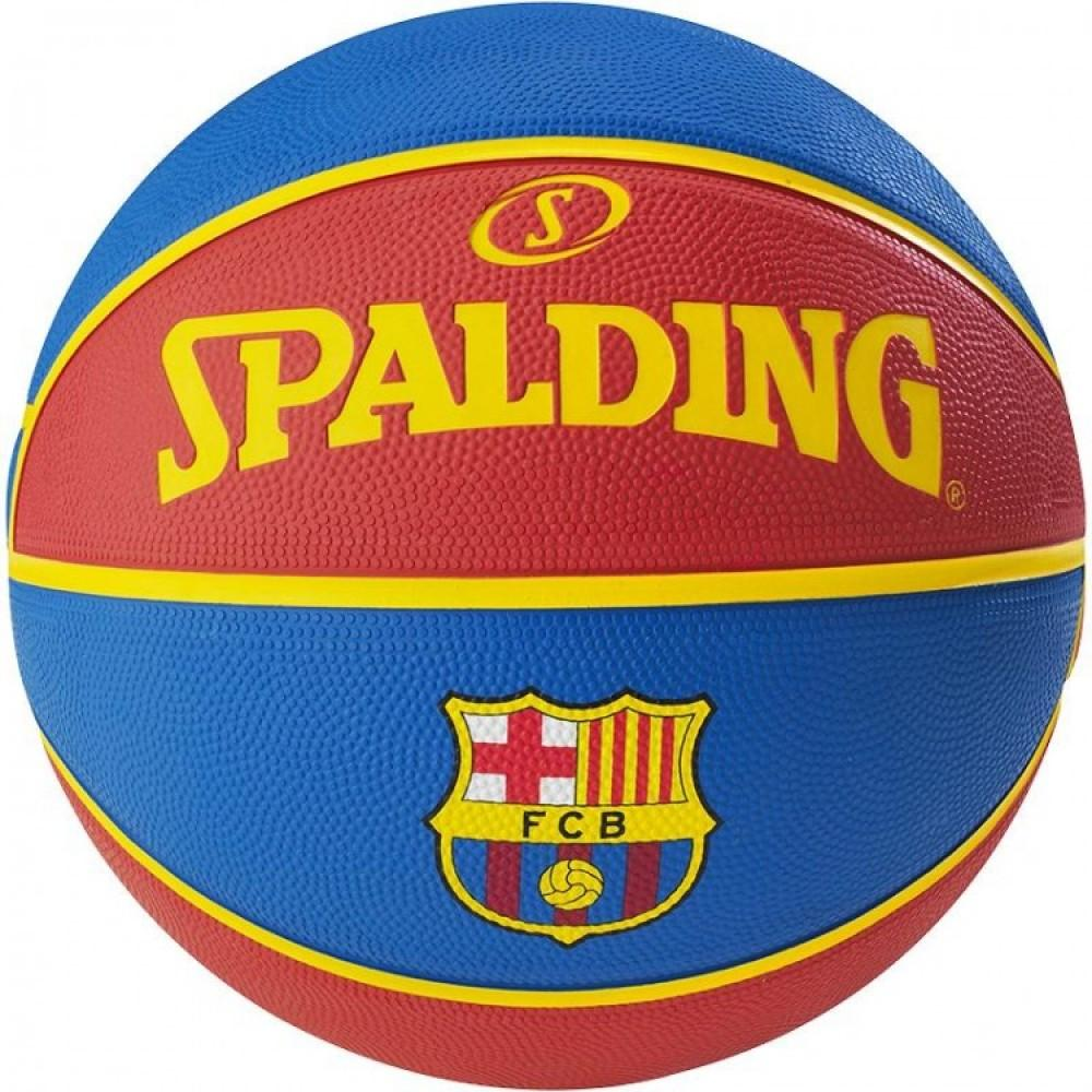 Баскетбольний м'яч Spalding EL Team FC Barcelona Розмір 7