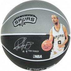 Баскетбольний м'яч Spalding NBA Player Tony Parker Розмір 7