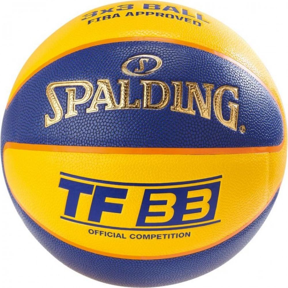 Баскетбольний м'яч Spalding TF-33 Indoor/Outdoor FIBA Розмір 6