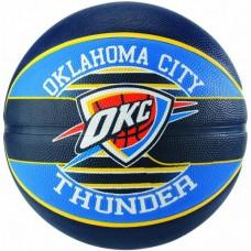 Баскетбольний м'яч Spalding NBA Team OC Thunder Розмір 7
