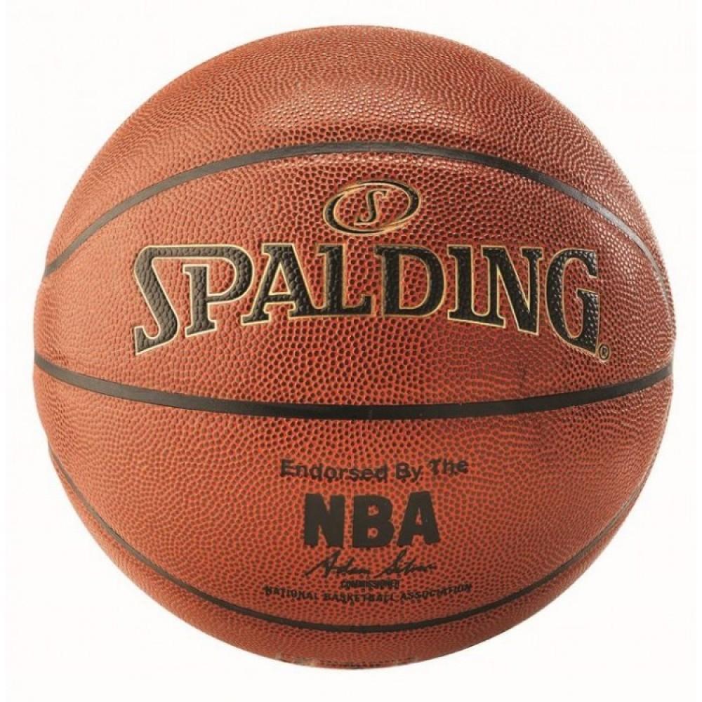 Баскетбольний м'яч Spalding NBA Gold Indoor/Outdoor Розмір 7