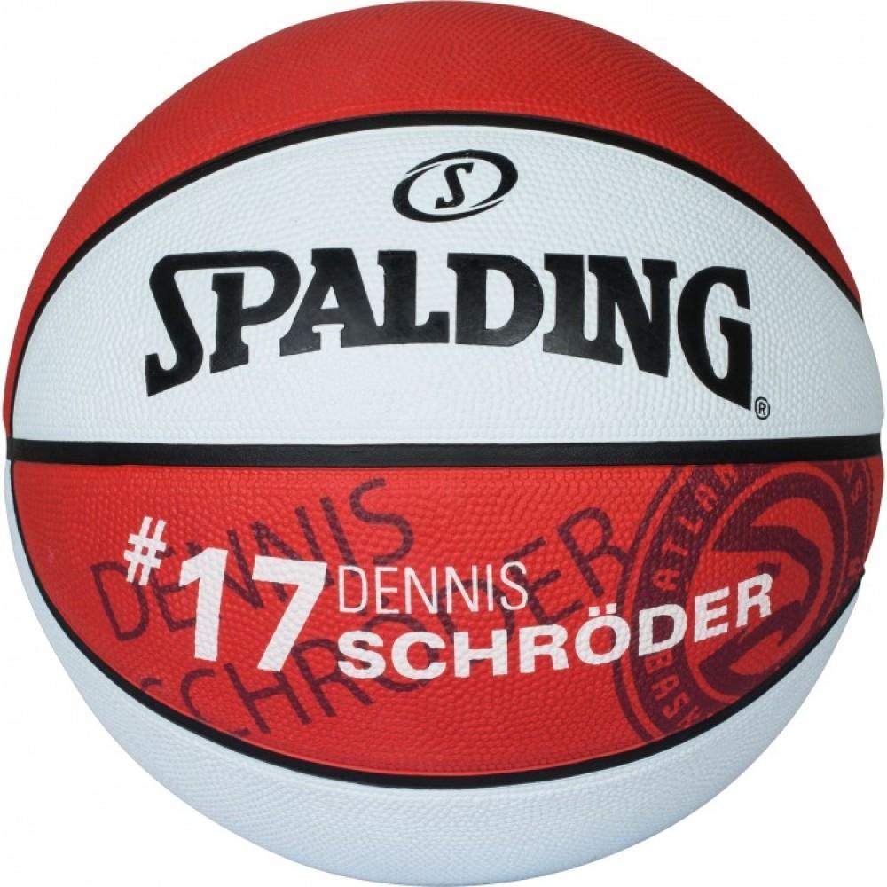Баскетбольний м'яч Spalding NBA Player Dennis Schroeder Розмір 7