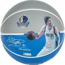 Баскетбольний м'яч Spalding NBA Player Dirk Nowitzki Розмір 7