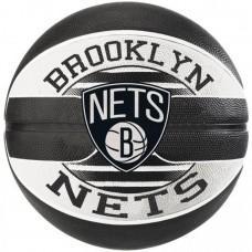 Баскетбольний м'яч Spalding NBA Team Brooklyn Nets Розмір 7