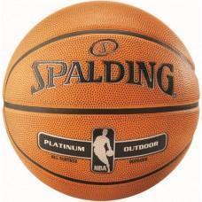 Баскетбольний м'яч Spalding NBA Platinum Outdoor Розмір 7