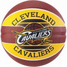 Баскетбольний м'яч Spalding NBA Team Cleveland Cavs Розмір 7