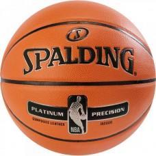 Баскетбольний м'яч Spalding NBA Platinum Precision Розмір 7
