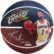 Баскетбольний м'яч Spalding NBA Player Kyrie Irving Розмір 7