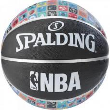 Баскетбольний м'яч Spalding NBA Team Collection Outdoor Розмір 7