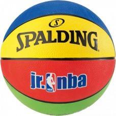 Баскетбольний м'яч Spalding Jr. NBA/Rookie Gear Outdoor Розмір 5