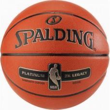 Баскетбольний м'яч Spalding NBA Platinum ZK Legacy Розмір 7