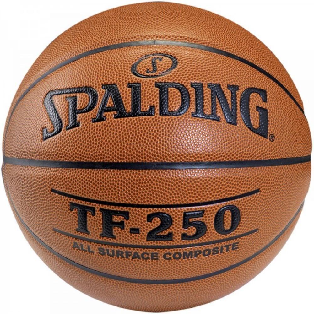 Баскетбольний м'яч Spalding TF-250 Indoor/Outdoor Розмір 6