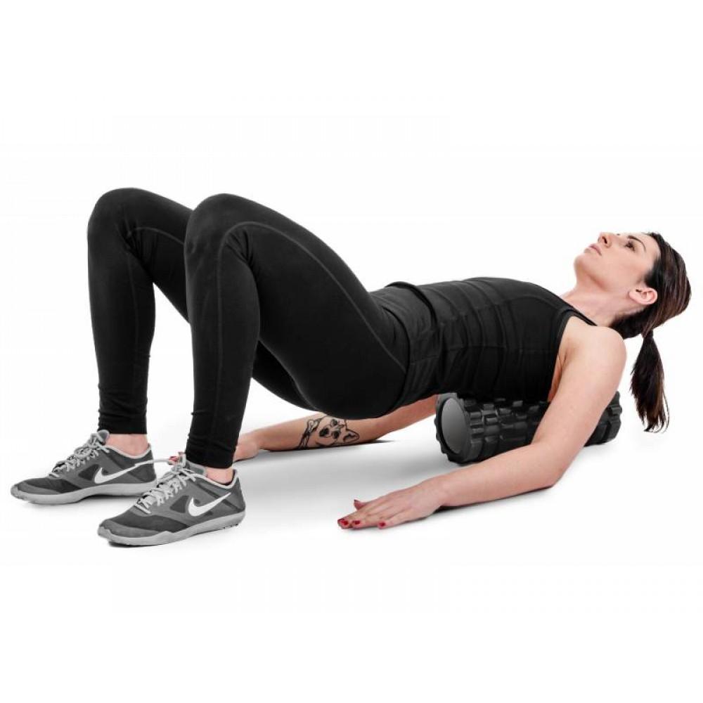 Роллер масажер для кросфіту та йоги Hop-Sport 001YG