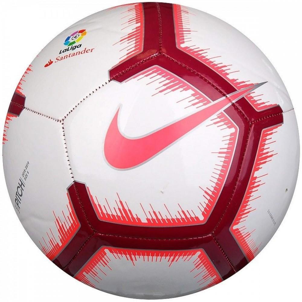 Футбольний м'яч Nike La Liga Pitch SC3318-100 Розмір 5