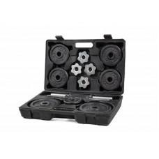 Металеві гантелі в футлярі Hop-Sport 2 x 10 кг