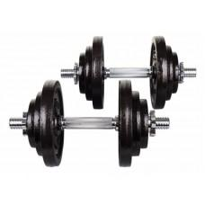 Металеві гантелі Hop-Sport Strong 2 х 20 кг