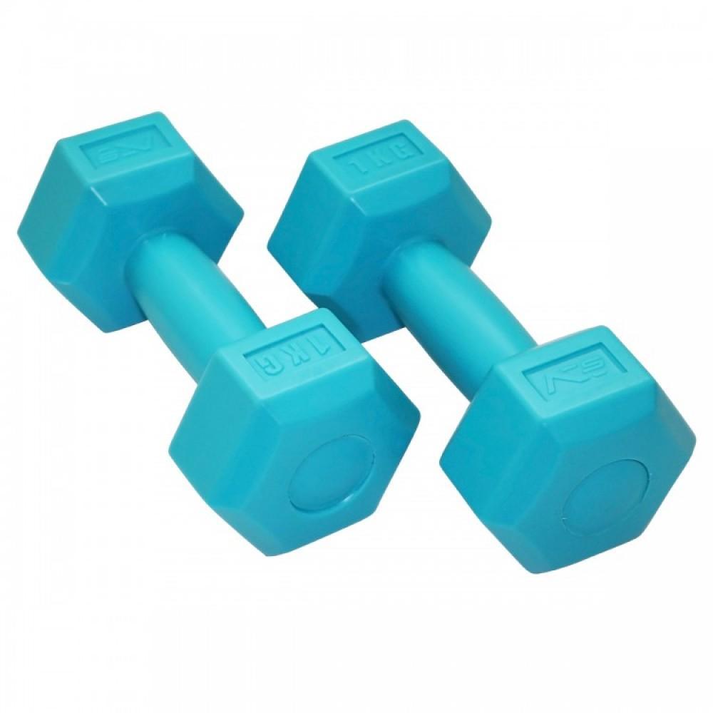 Композитні гантелі SportVida 2 x 1 кг