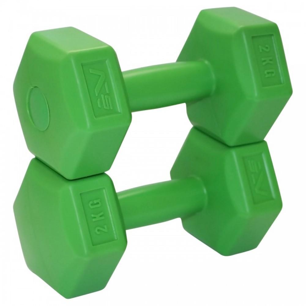 Композитні гантелі SportVida 2 x 2 кг