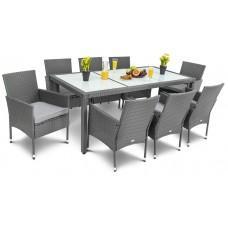 Садові меблі DiVolio Verona 8+1 Grey