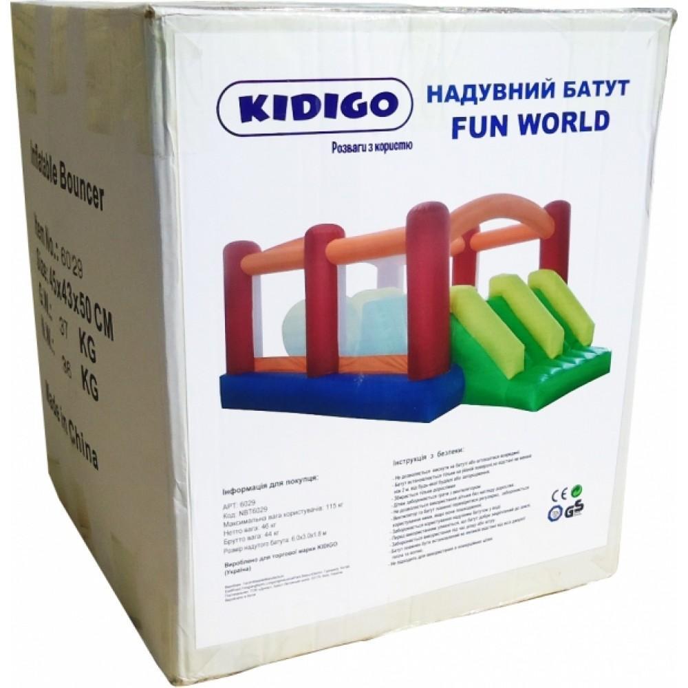Надувний батут Kidigo Fun World