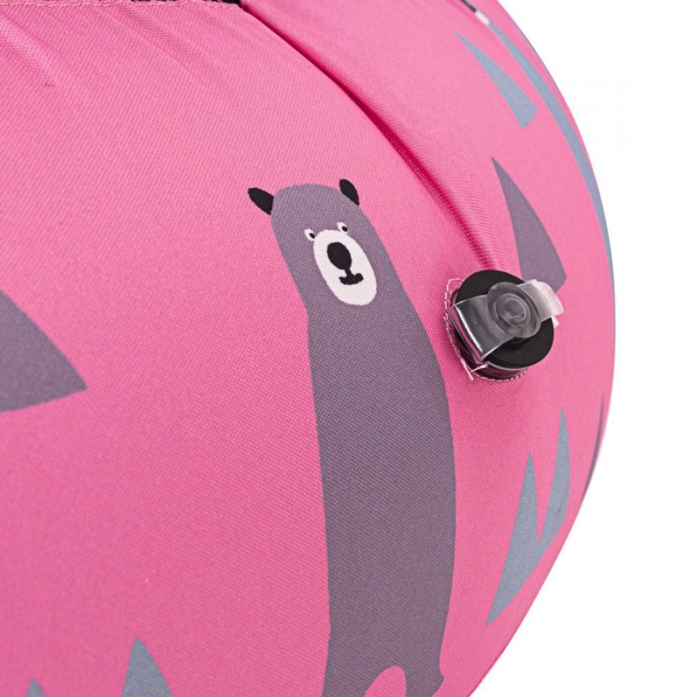 Надувний батут InSPORTLine Nufino Pink 120 см