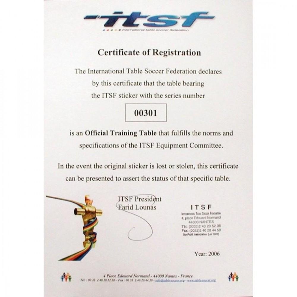 Настільний футбол Garlando Pro Champion ITTF