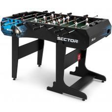 Настільний футбол Hop-Sport Sector Black/Blue