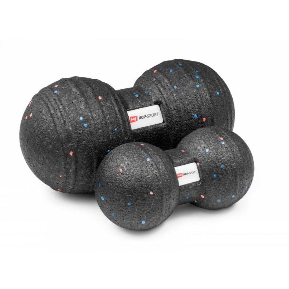 Подвійний масажний м'яч Hop-Sport P120DMB