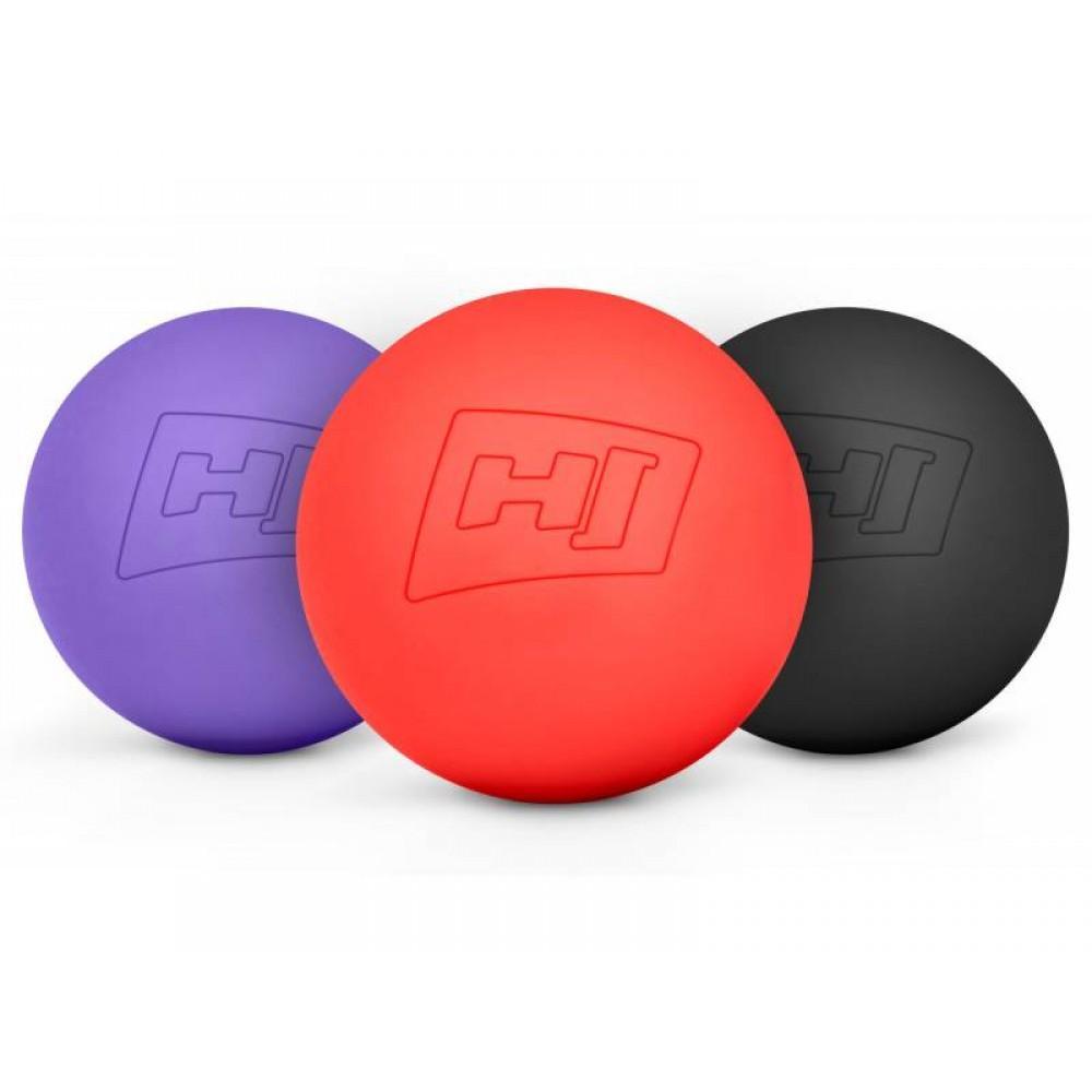 Силіконовий масажний м'яч 63 mm Hop-Sport S063MB