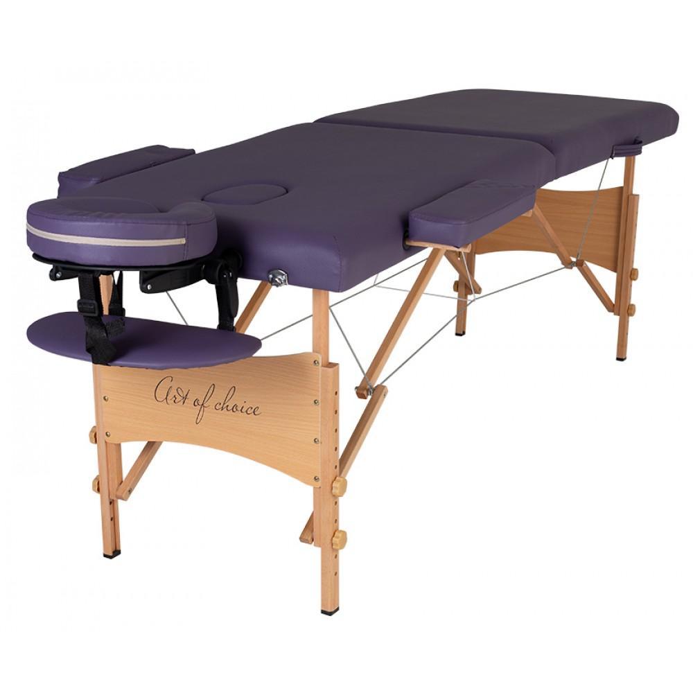 Масажний стіл Art of Choice Nel фіолетовий