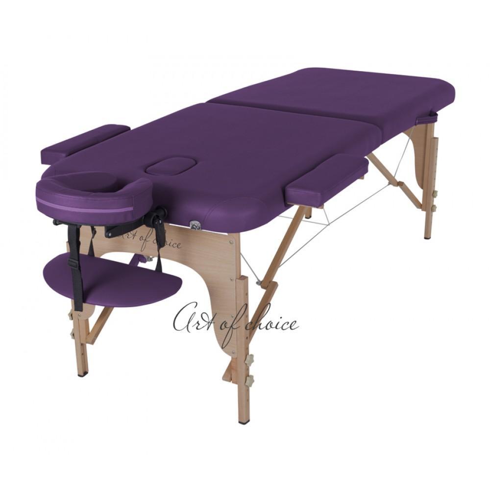 Масажний стіл Art of Choice MIA фіолетовий