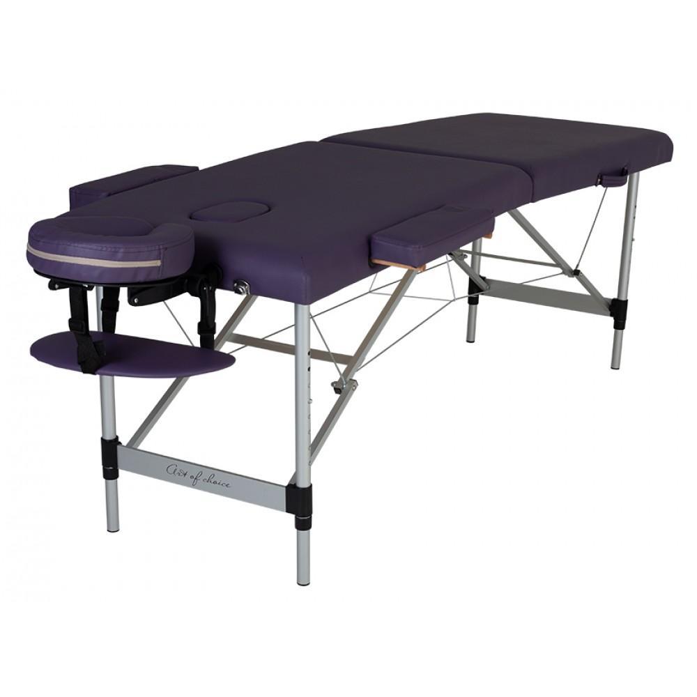 Масажний стіл Art of Choice Mol фіолетовий