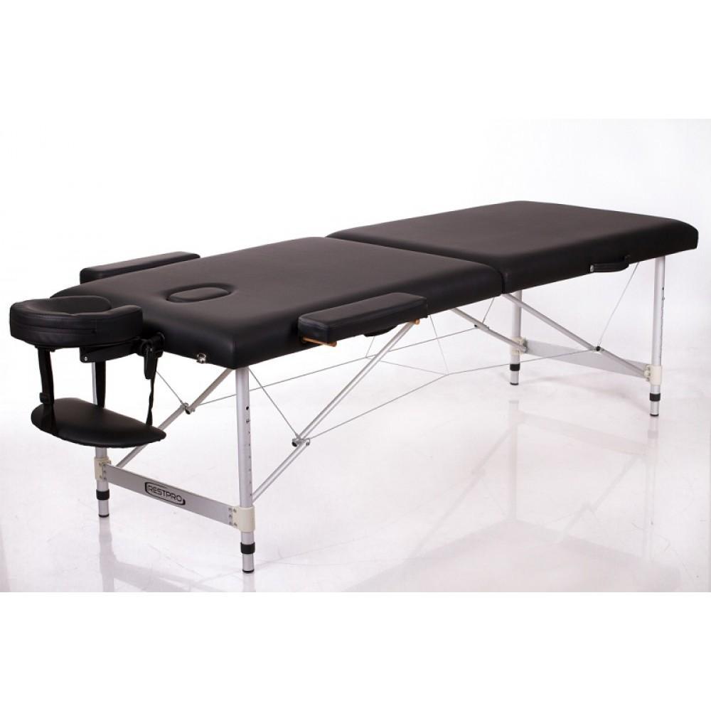 Масажний стіл Restpro Alu 2 чорний