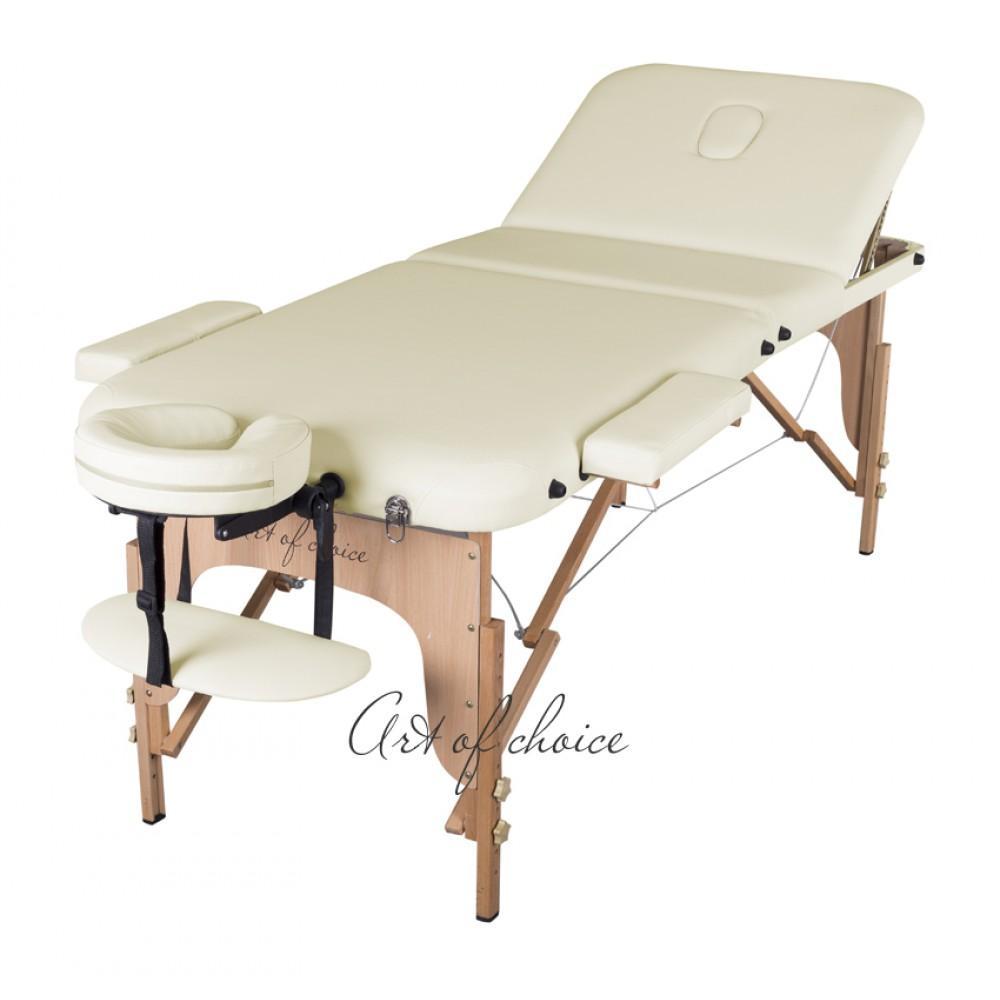 Масажний стіл Art of Choice Den Comfort бежевий