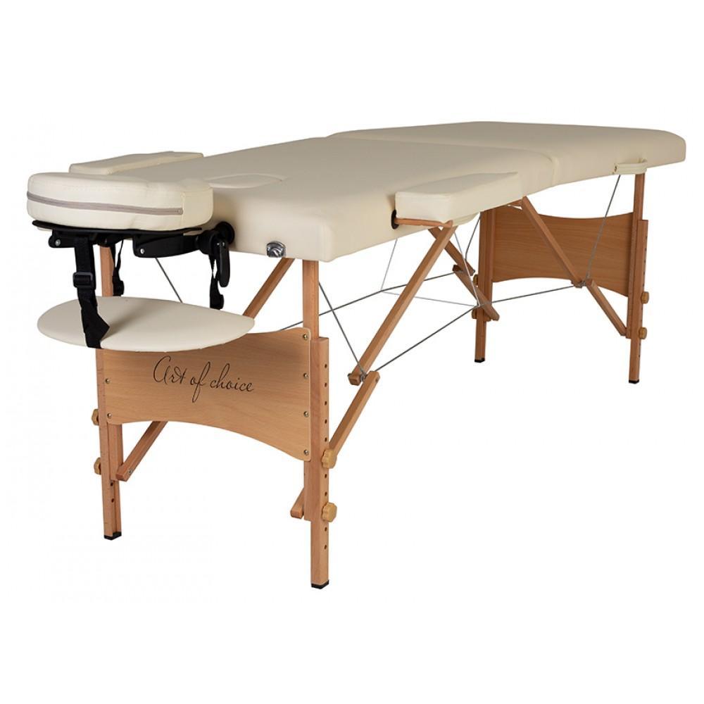 Масажний стіл Art of Choice Nel бежевий