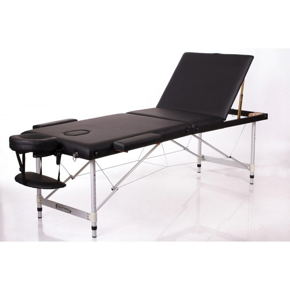 Масажний стіл Restpro Alu 3 чорний