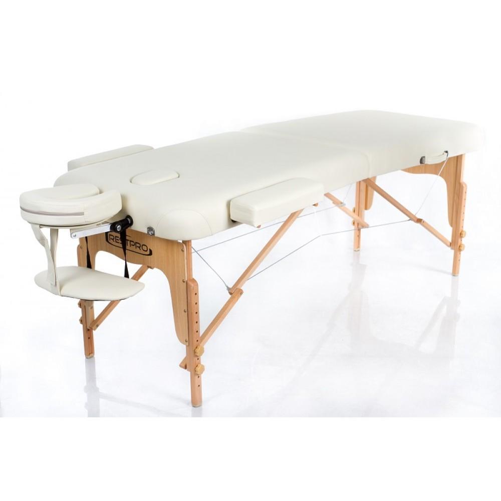 Масажний стіл Restpro Vip 2 бежевий