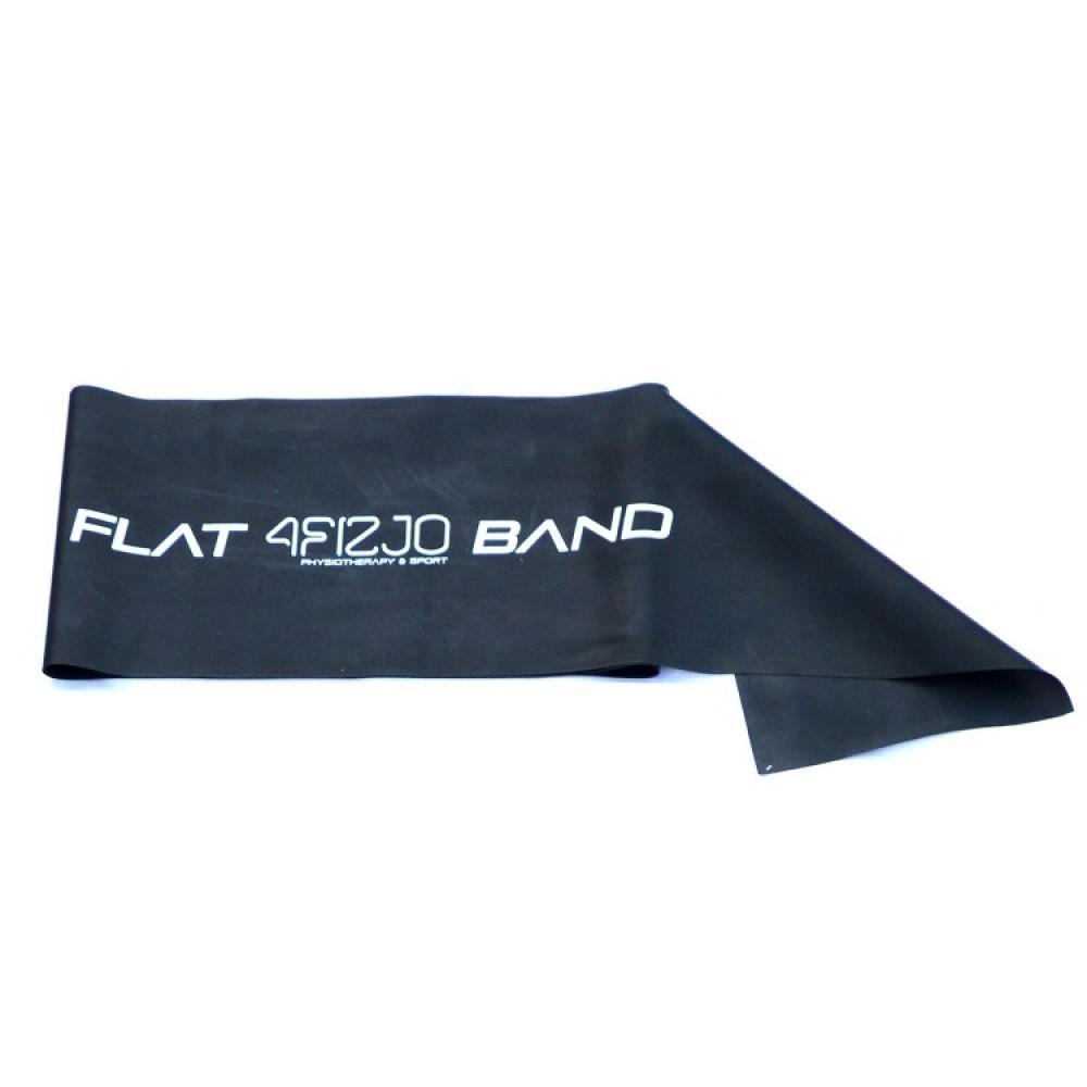 Еластична стрічка для фітнесу 4FIZJO Flat Band 200 x 15 x 0.04 см, 7-10 кг