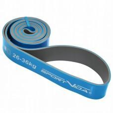 Фітнес стрічка SportVida 208 x 4.4 x 0.45 см, 26-36 кг