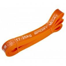 Еластична стрічка для фітнесу SportVida 208 х 2.8 х 0.45 см, 17-26 кг
