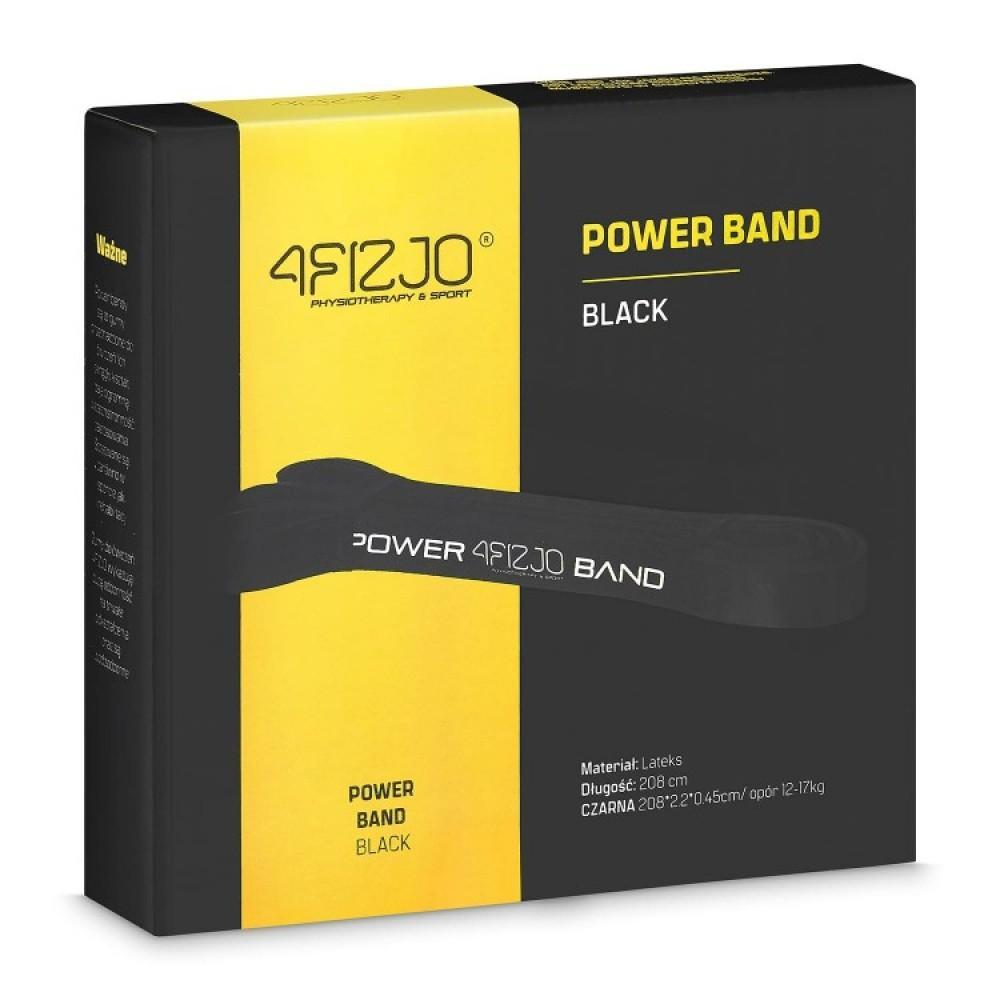 Еластична стрічка для фітнесу 4FIZJO 208 х 2.1 х 0.45 см, 12-17 кг