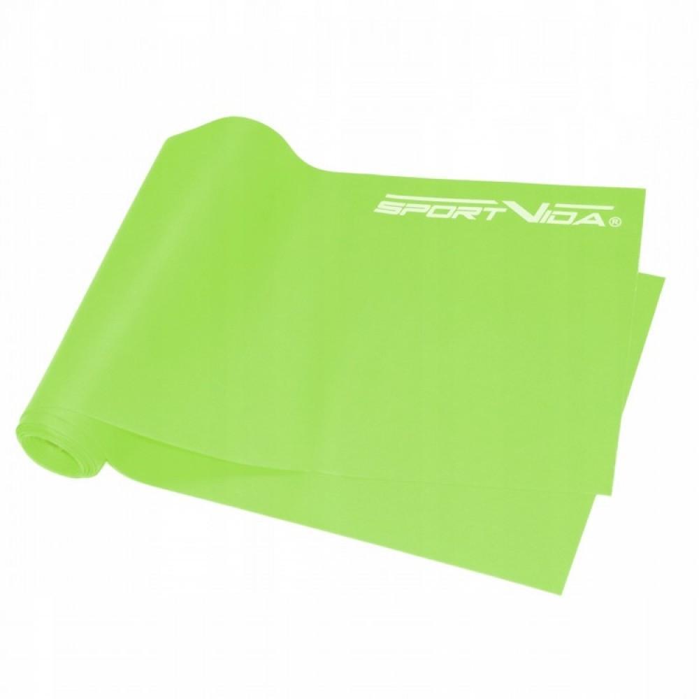 Набір з 3 еластичних стрічок для фітнесу SportVida Flat Stretch Band, 0-15 кг