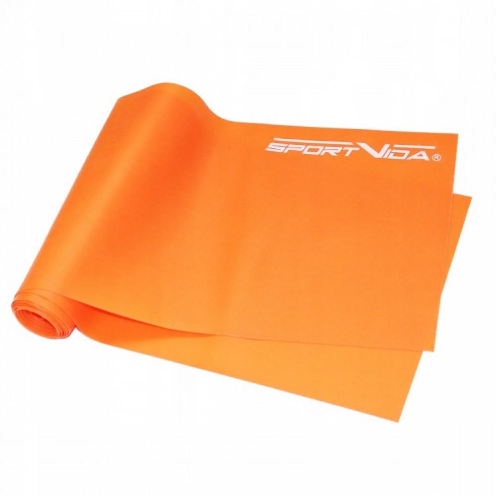 Еластична стрічка SportVida Flat Stretch Band 200 х 15 х 0,045 см, 5-10 кг