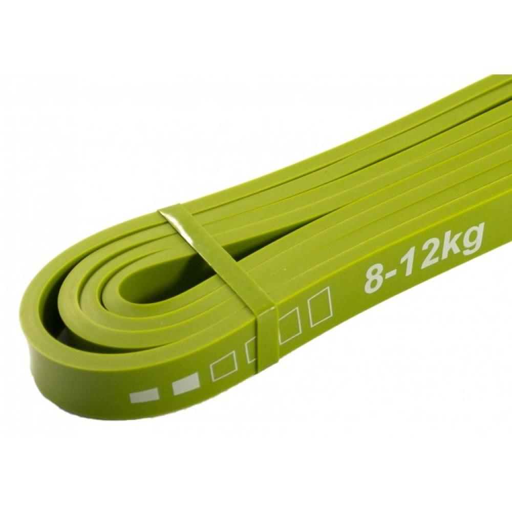 Набір з 3 еластичних стрічок для фітнесу SportVida, 0-17 кг