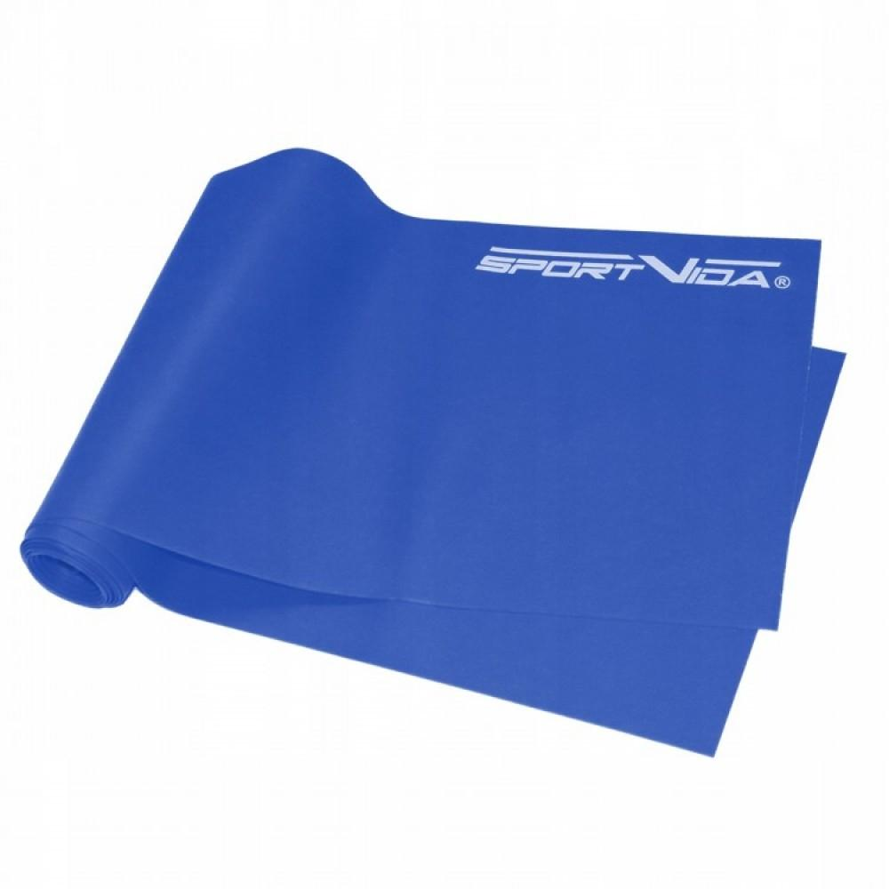 Еластична стрічка SportVida Flat Stretch Band 200 х 15 х 0,055 см, 10-15 кг