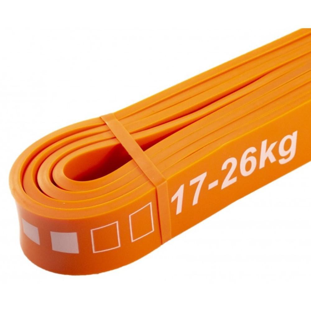 Набір з 4 еластичних стрічок для фітнесу SportVida, 0-26 кг