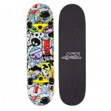 Скейтборд Nils Extreme Pop Art