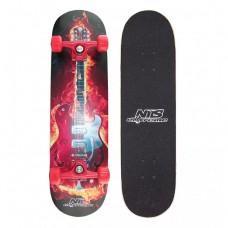 Скейтборд Nils Extreme Fire Music